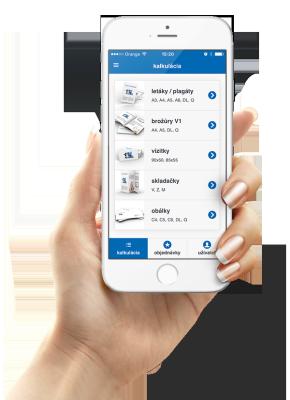 mobilná aplikácia Digitálna tlačiareň