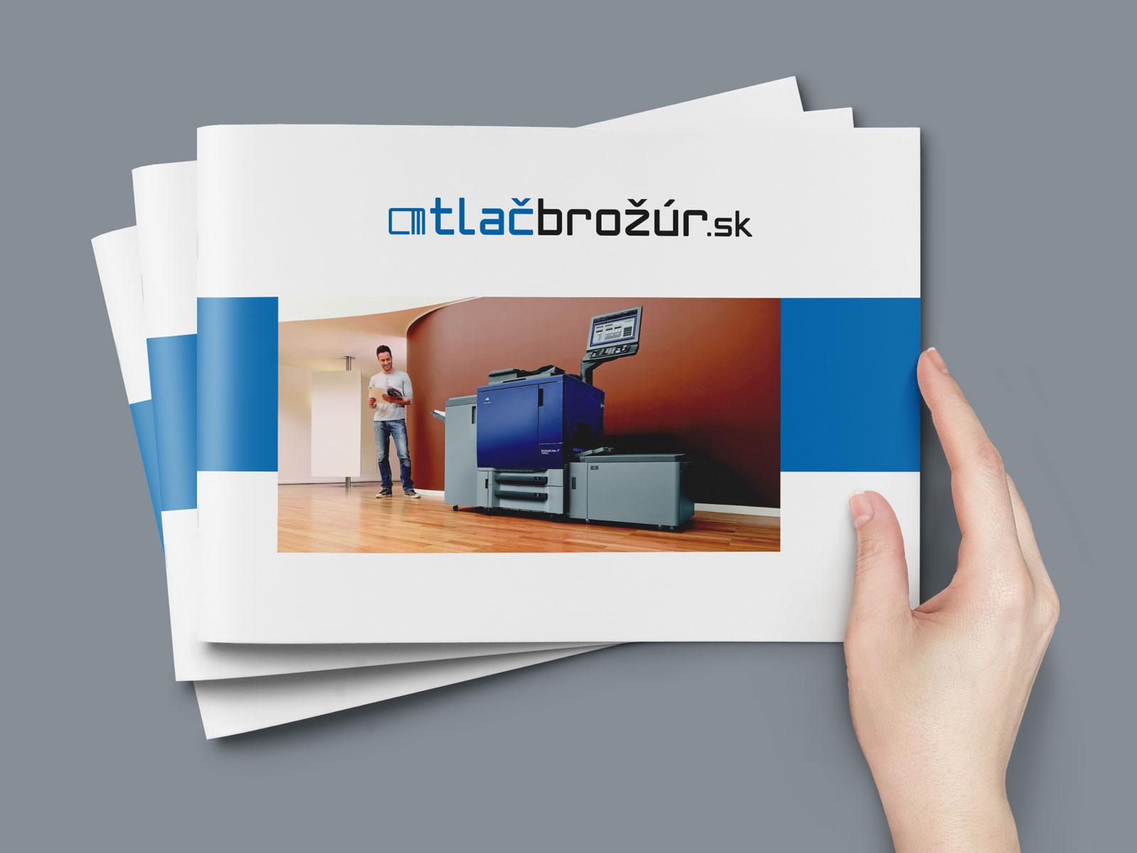 brožúry, katalógy, časopisy - digitálna tlač