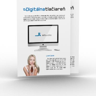 digitálna tlačiareň - tlač plagátov